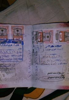 A Kuwait visa stamped passport of a Rasuwa resident, Rasuwa. In Rasuwa, a significant number of people have gone to the Gulf states for labor employment. Kuwait is one of the preferred destinations among women from Rasuwa, where many have gone and worked. Nevertheless, returnee labor migrants back in Rasuwa are often seen working as porters at Timure parking.