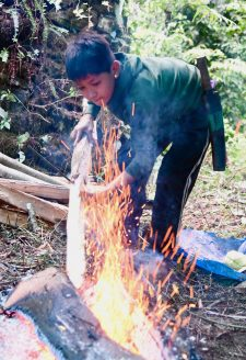 Sohang is a fifteen-year-old boy who has only been working in the goth for a few days. Aitamaan Limbu has already given him a lamb and has promised him an additional twenty thousand rupees at the end of a year's work.